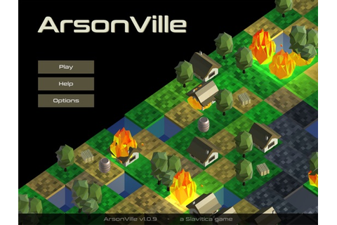 ArsonVille (by Graham Weldon) - Touch Arcade