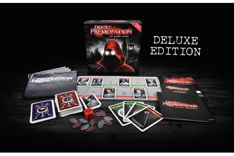Deadly Premonition board game gets retail Deluxe Edition ...