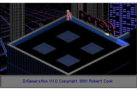 D/Generation Download (1991 Adventure Game)