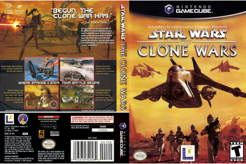 Star Wars The Clone Wars ISO