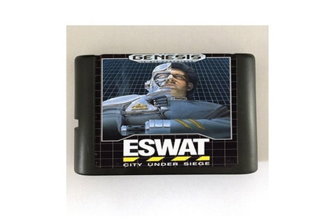 ESWAT City under Siege 16-Bit Sega Genesis Mega Drive by ...