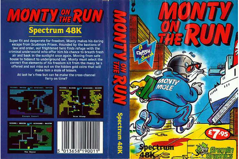 Monty on the Run | Top 80's Games