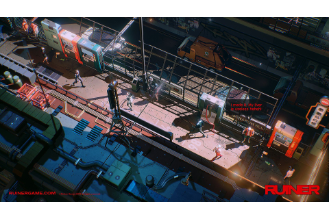 Ruiner is a neon-bright swords and guns game that will ...