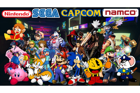 Nintendo VS SEGA VS CAPCOM VS NAMCO by kirby65422 on ...
