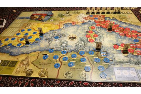 Rome vs Carthage – Board Playing It All Over