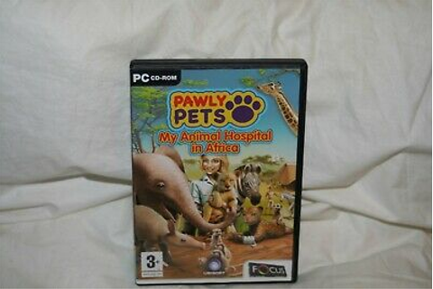 PC CD-Rom Game- Pawly Pets My Animal Hospital In Africa ...