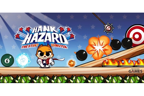 Hank Hazard: The Stunt Hamster – Games for Android 2018 ...