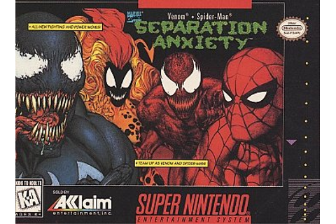 Year Of The Game: Spiderman & Venom: Separation Anxiety