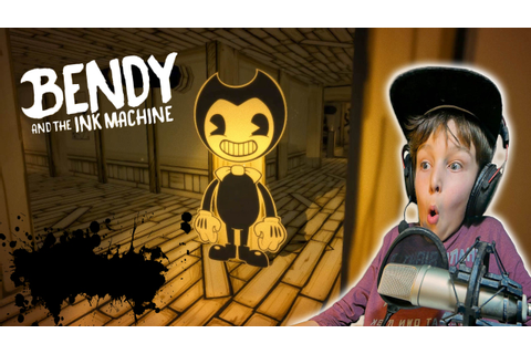 Echte Horror game Bendy And The Ink Machine - YouTube