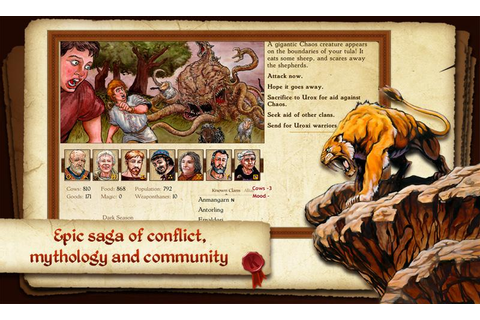 King of Dragon Pass: Text Adventure RPG - Android Apps on ...