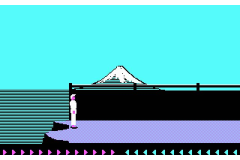 Download Karateka action for DOS (1986) - Abandonware DOS