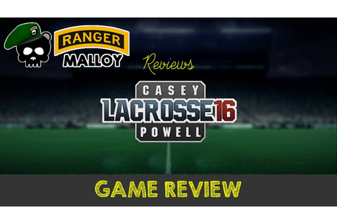 Casey Powell Lacrosse 16 - Game Review (XBox One) - by ...