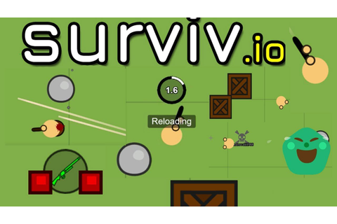 SURVIV.IO & New Game & Survival & Shooting & Upgrades ...