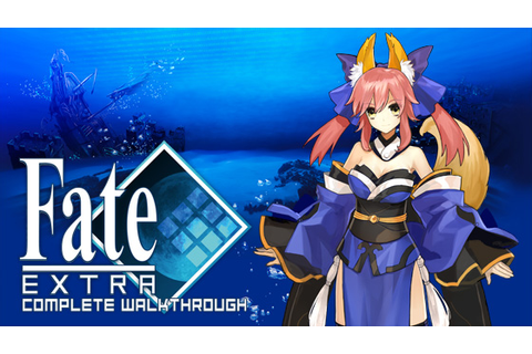 Fate/EXTRA: Complete Walkthrough ~ Cirnopoly