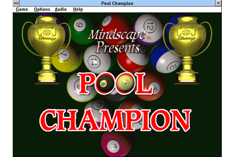 Pool Champion (1995) by Bitmasters Win3.1 game