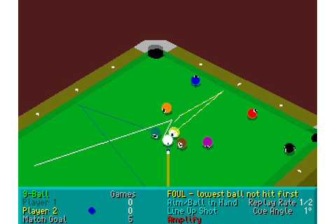 Download Virtual Pool sports for DOS (1995) - Abandonware DOS