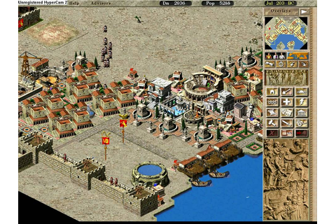 Caesar 3 PC Game City of Miletus - YouTube