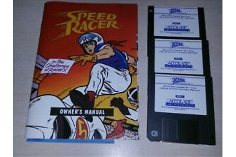 Speed Racer in the Challenge of Racer X IBM PC game 3.5 ...
