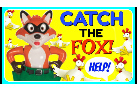 CATCH THE FOX Board Games Games For Kids! FUN Family Game ...
