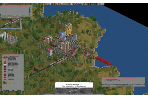 Download OpenTTD, a free, open source game