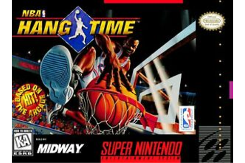 NBA HANG TIME SNES SUPER NINTENDO GAME | eBay