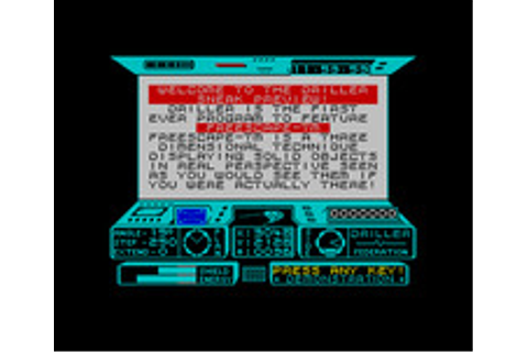 Driller (1987)(Incentive Software) : Free Download ...