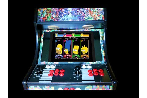 Classic Arcade Game - The Simpsons LIVE - YouTube