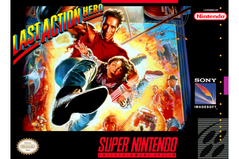 Last Action Hero SNES Super Nintendo