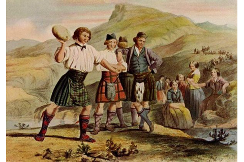 Highland Games are an ancient tradition featuring various ...
