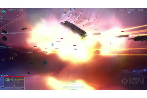 Homeworld Remastered: 37 Minutes of Gorgeous HD Gameplay ...