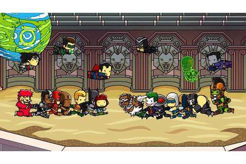 Scribblenauts DC Comics Game Coming to Nintendo in the Fall