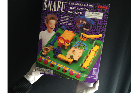 Snafu Run Yourself Ragged Marble Maze Game by modernnostalgic