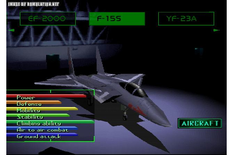 Free Download | Ace Combat 2 | PSX Rom ~ 21 Deimon Free ...