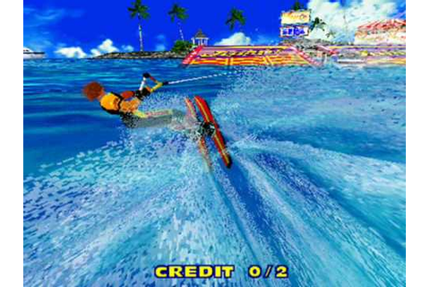 Model 2 Emulator - SEGA Water Ski First Screenshots! - YouTube