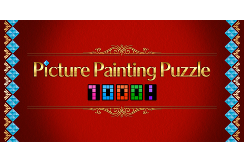 Picture Painting Puzzle 1000! | Nintendo Switch download ...