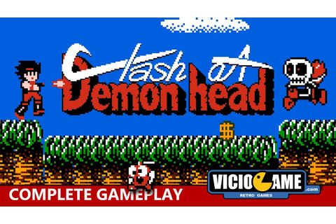 Clash at Demonhead (Nintendo) Complete Gameplay - YouTube