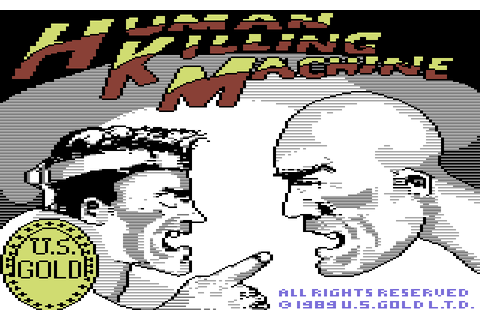 Human Killing Machine (1989) by Tiertex C64 game