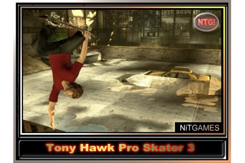 Download - Tony Hawk Pro Skater 3 NTG! RIP PC.110MB ...