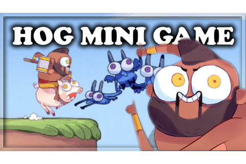 Secret Hidden Hog Rider Mini Game! | Clash Royale 🍊 - YouTube
