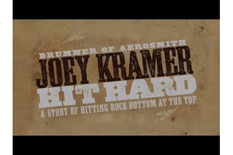 Joey Kramer is the legendary drummer with the most ...