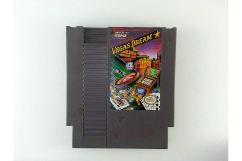 Vegas Dream game for NES (Loose) | The Game Guy