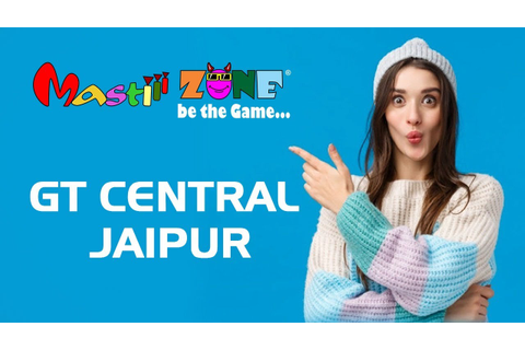 Mastiii Zone,GT Central. Best Game Zone in India - YouTube