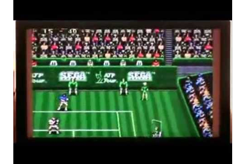 ATP Tour Championship Tennis - Sega Genesis Review #259 ...