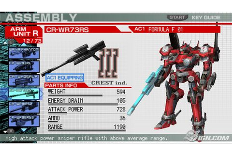Armored Core – Formula Front (Japan) – DroidTrix