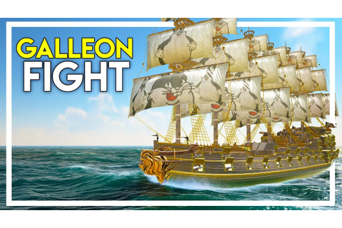 Fighting a Ship with a 150 Cannon Galleon! (Atlas Gameplay ...