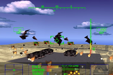Agile Warrior - F-111X (USA) PS1 ISO - Game For Android ...