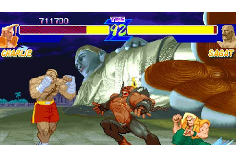 Street Fighter® Alpha Anthology Game | PS2 - PlayStation