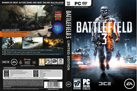 Battlefield 3 | Game Cover | computer game graphics ...