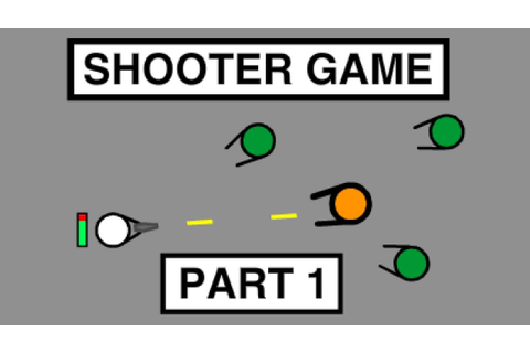 Scratch Tutorial: How to Make a Shooter Game (Part 1 ...