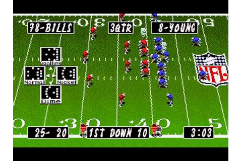 Tecmo Super Bowl II Special Edition - Pro Bowl (Genesis ...